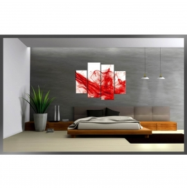 Tablou canvas decor inedit cu animale - Caluti model BM1P7585-1