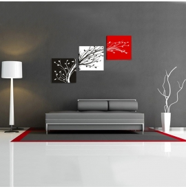 Tablou decorativ abstract pentru casa ta - 120x75cm, model BM3135