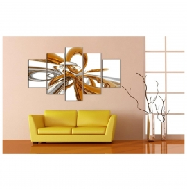 Tablou decorativ abstract pentru casa ta - 120x75cm, model BM3161