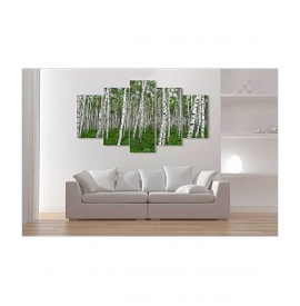 Tablou multicanvas design abstract  - 120x75cm, model BM3195