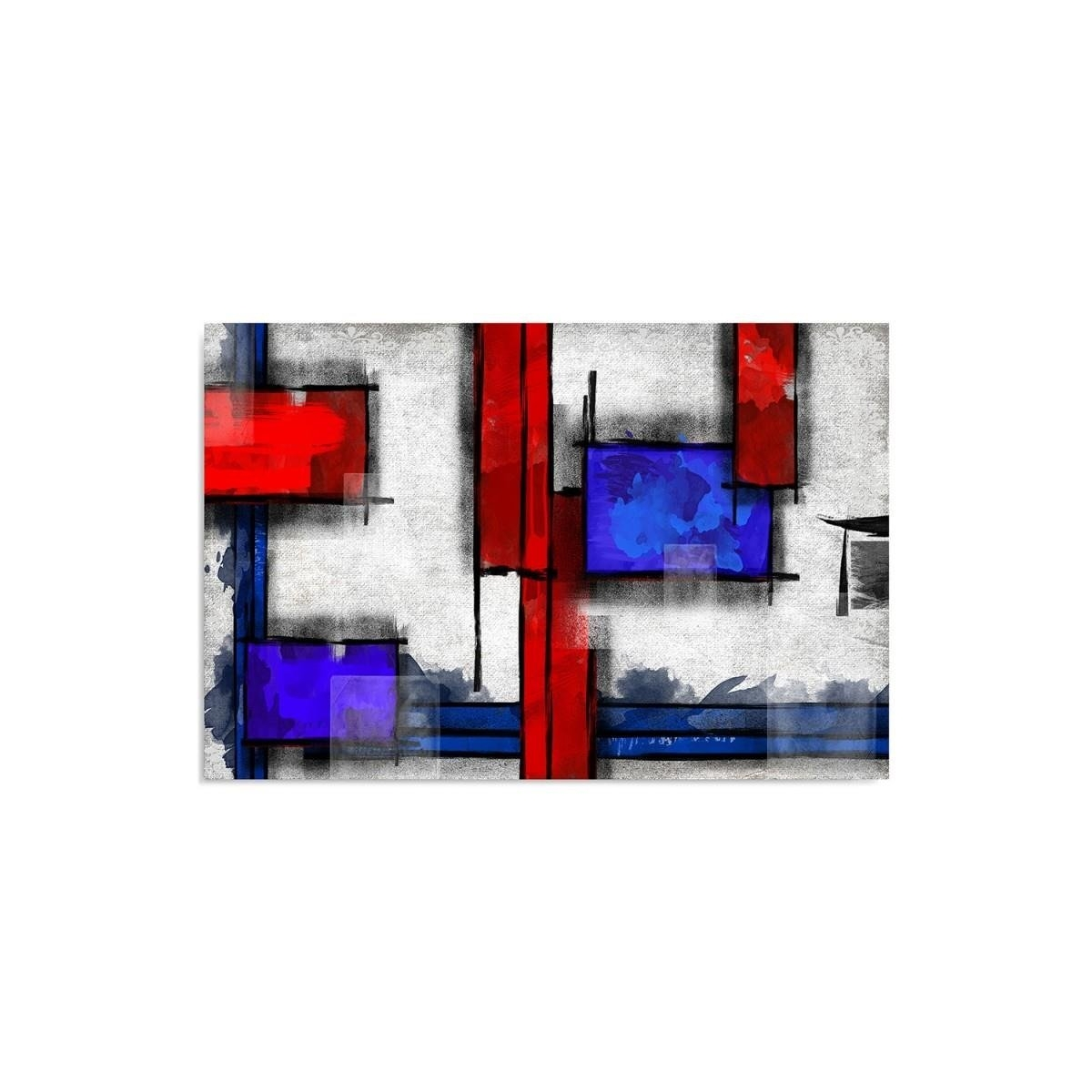 Canvas, Picture on canvas, Geometric abstraction 640x30