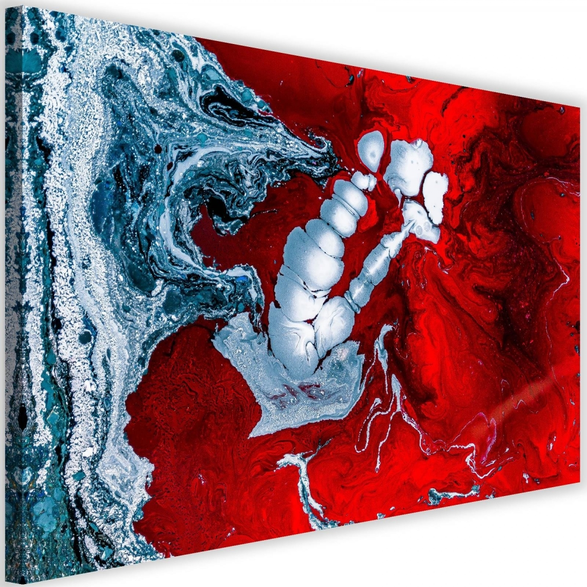 Canvas, Red Abstraction120x80